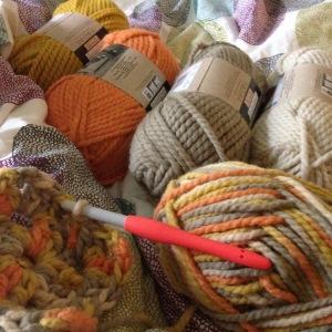 Yarn haul.