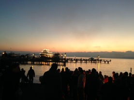 View across Marina