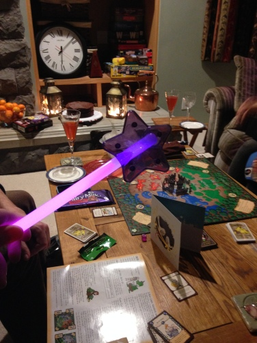 Pink glo stick wand
